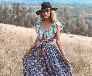 boho, hippie, and moda image