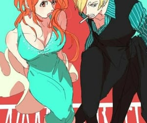 one piece, sanji, and ñami image