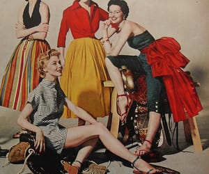 vintage clothing, 50s fashion, and 1950s image
