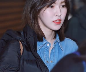 red velvet, son seung wan, and wendy image