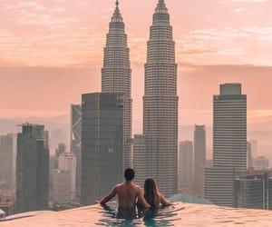 cityscape, couple, and landscape image