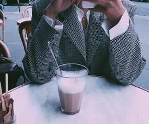coffee, plaid, and edits image