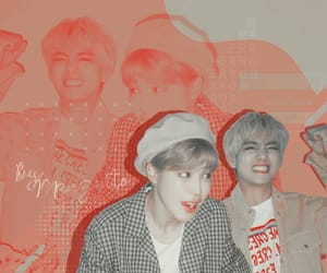 edit, kpop, and v image