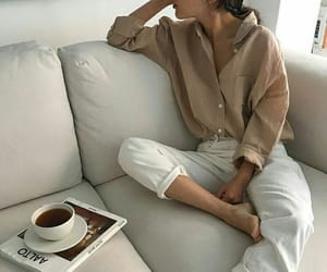 beige, books, and coffee image