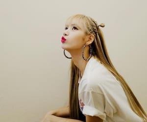 blonde, earrings, and blackpink image