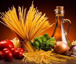 fitness, food, and oil image