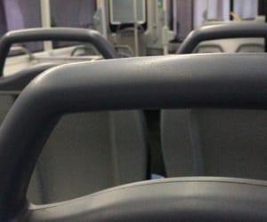alone, dark, and bus image