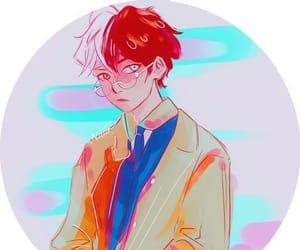 anime, boy, and boku no hero academia image