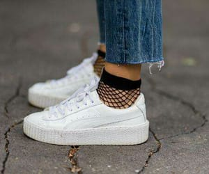 fashion shoes, sneakers, and socks image