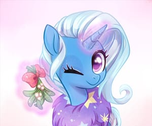 fanart, MLP, and trixie image