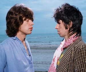 Keith Richards, mick jagger, and the rolling stones image