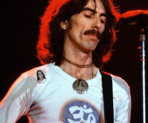 bands, george harrison, and legend image