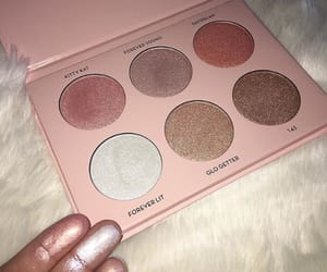 highlighter, beauty, and goals image