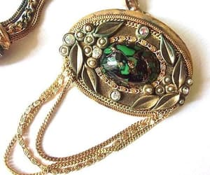 Art Nouveau, west germany, and 18k gold plated image