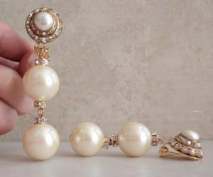 etsy, wedding earrings, and vintage earrings image