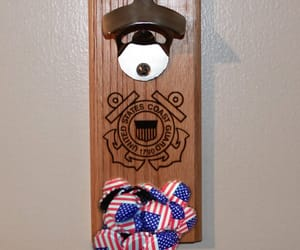 beer, bottle opener, and man cave image