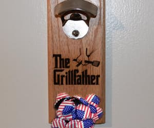 bbq, magnetic, and father's day image