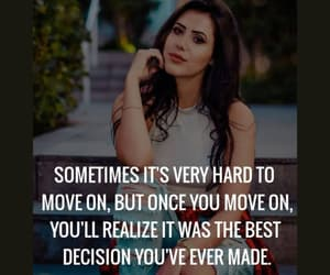 move on, quote, and quotes image
