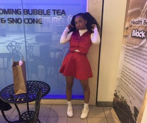 aesthetic, bubble tea, and fit image