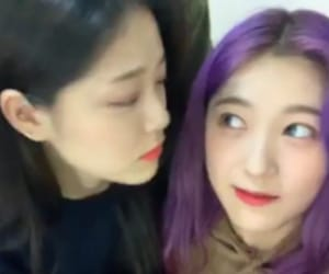 asian, loona, and choerry image