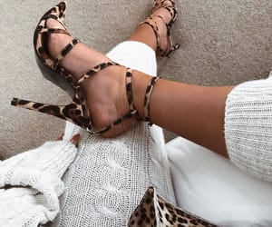 chic, girly, and heels image