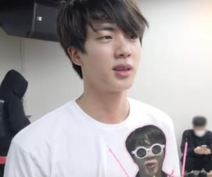 bts, jin, and icon image