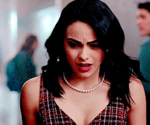 veronica lodge, camila mendes, and gif image