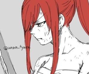 anime, anime girl, and erza scarlet image