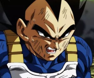 anime, vegeta, and dbs image