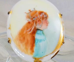 etsy, vintage brooch, and jewelry for women image