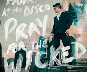 album, cover, and panic at the disco image