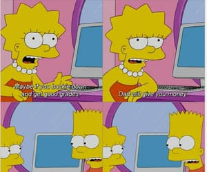 bart simpson, the simpsons, and tumblr image