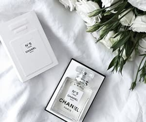 chanel, white, and perfume image