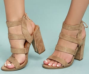 heels, straps, and sandals image