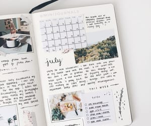 diary, journal, and planner image