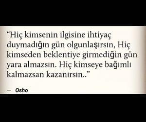 türkçe sözler, alıntı, and osho image