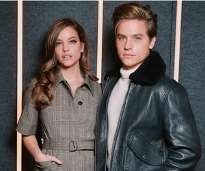 barbara palvin, dylan sprouse, and love image