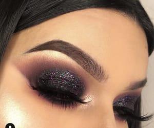 black, glitter, and goals image