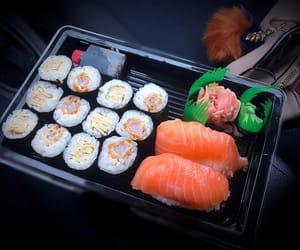 sushi, nigiri, and foodporn image