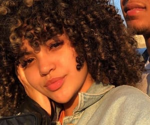 curls, curly, and cute face image