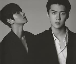 exo, osh, and sebaek image