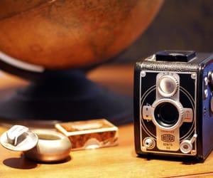 camera, cool, and globe image