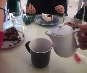 cakes, coffee, and mes amies image