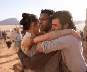 finn, star wars, and poe dameron image