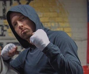 beard, boxer, and hoodie image