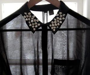 fashion, shirt, and black image
