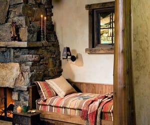 fireplace, reading nooks, and fireplace design ideas image