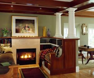 fireplace, modern fireplaces, and inspiring interiors image