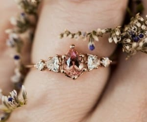 accessory, diamonds, and flowers image