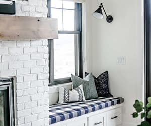 fireplace, inspiration, and reading nooks image